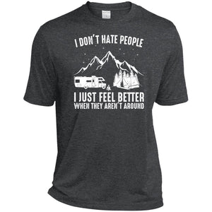 Camping I Don't Hate People I Just Feel Better Camping Shirt