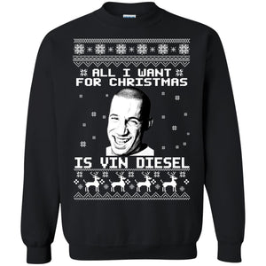 All I Want For Christmas Is Vin Diesel