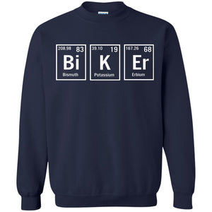Biker Periodic Elements Spelling shirt