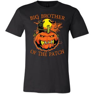 Big Brother Of The Patch Halloween Pumpkin Shirt