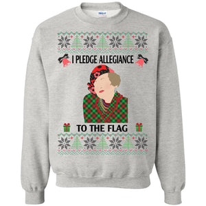 Christmas Aunt Bethany I Pledge Allegiance To The Flag
