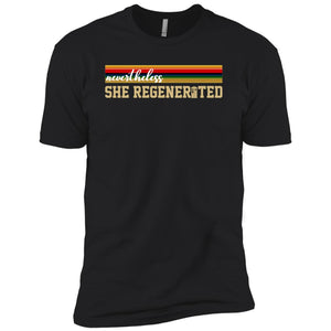 13th Doctor Who Nevertheless She Regenerated Shirt