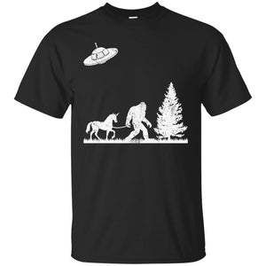 Bigfoot HQD UFO Christmas Tree Shirt