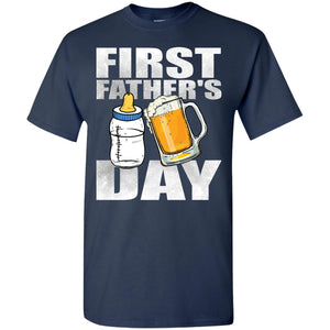 Beer Babby Bottle Dad First Father's Day Shirt
