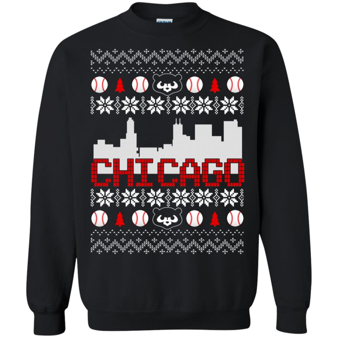 Chicago Cubs Ugly Christmas Shirt Sweater Therockin