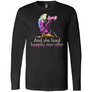 And She Lived Happily Ever After Photographer Women Shirt