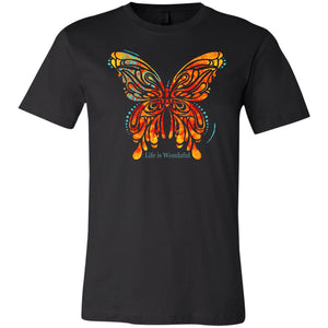 Beautiful Butterfly Life Is Wondaful Shirt