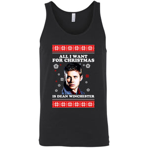 All I Want For Christmas Is Dean Winchester Ugly Shirt Sweater