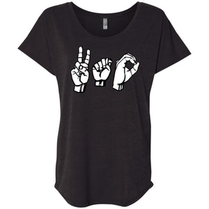 ASL VTO Sign Language Shirt