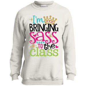 Back To School Kindergarten I'm Bringing Sass To The Class Shirt