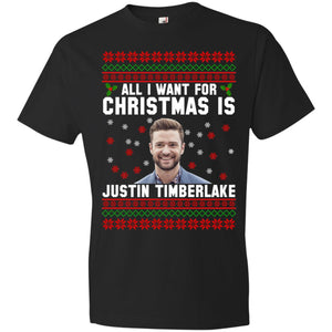 All I Want For Christmas Is Justin Timberlake Sweater