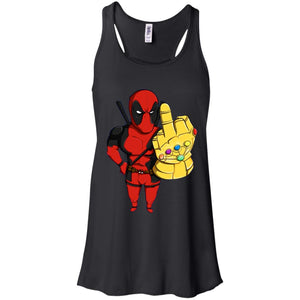 Deadpool Thanos Infinity War Gauntlet Shirt