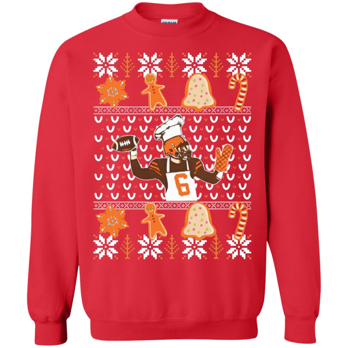 Baker Mayfield Christmas Shirt Sweatshirt Therockin