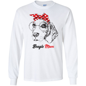 Beagle Mom Red Bandana Shirt, Hoodie