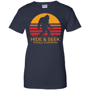 Bigfoot Hide And Seek World Champion Shirt