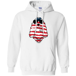 English Springer Spaniel American Flag Pattern Shirt