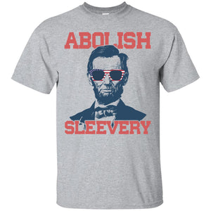 Abraham Lincoln Abolish Sleevery shirt