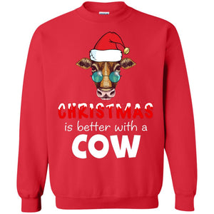 Christmas Is Better With A Cow