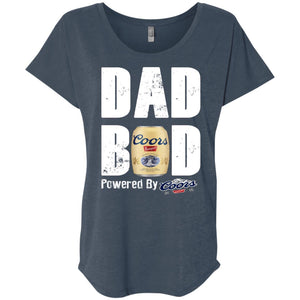 Father's Day Dad Bod Powered By Coors Banquet Shirt