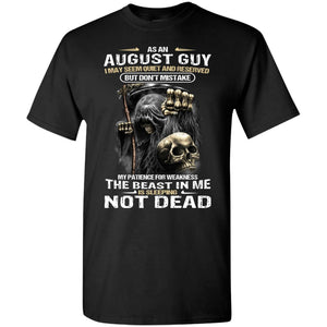 Death Inside The Beast In Me Is Sleeping Not Dead Shirt