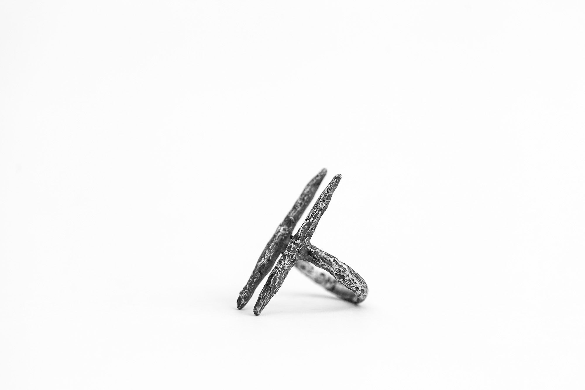 DOUBLE SPIKE RING - OSS