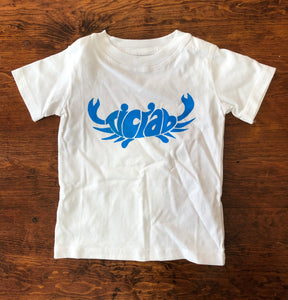 tiCrab silk screen logo t shirt
