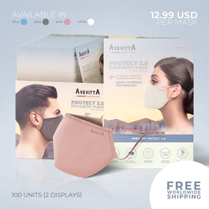 Avevitta Protect 2.0 - 100 units Sample Package