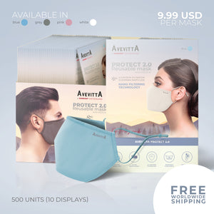 Avevitta Protect 2.0 - 500 units Wholesale Package