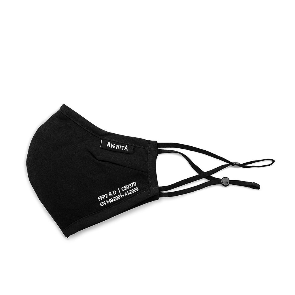 AVEVITTA FFP2 PROTECT 2.0  MASK - BLACK