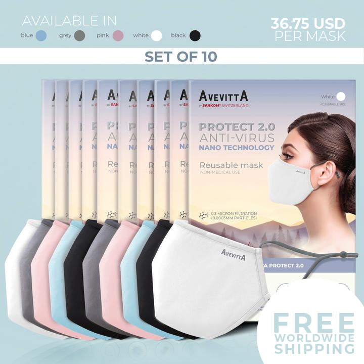 Avevitta Protect 2.0 - SET OF 10