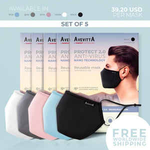 Avevitta Protect 2.0 - SET OF 5