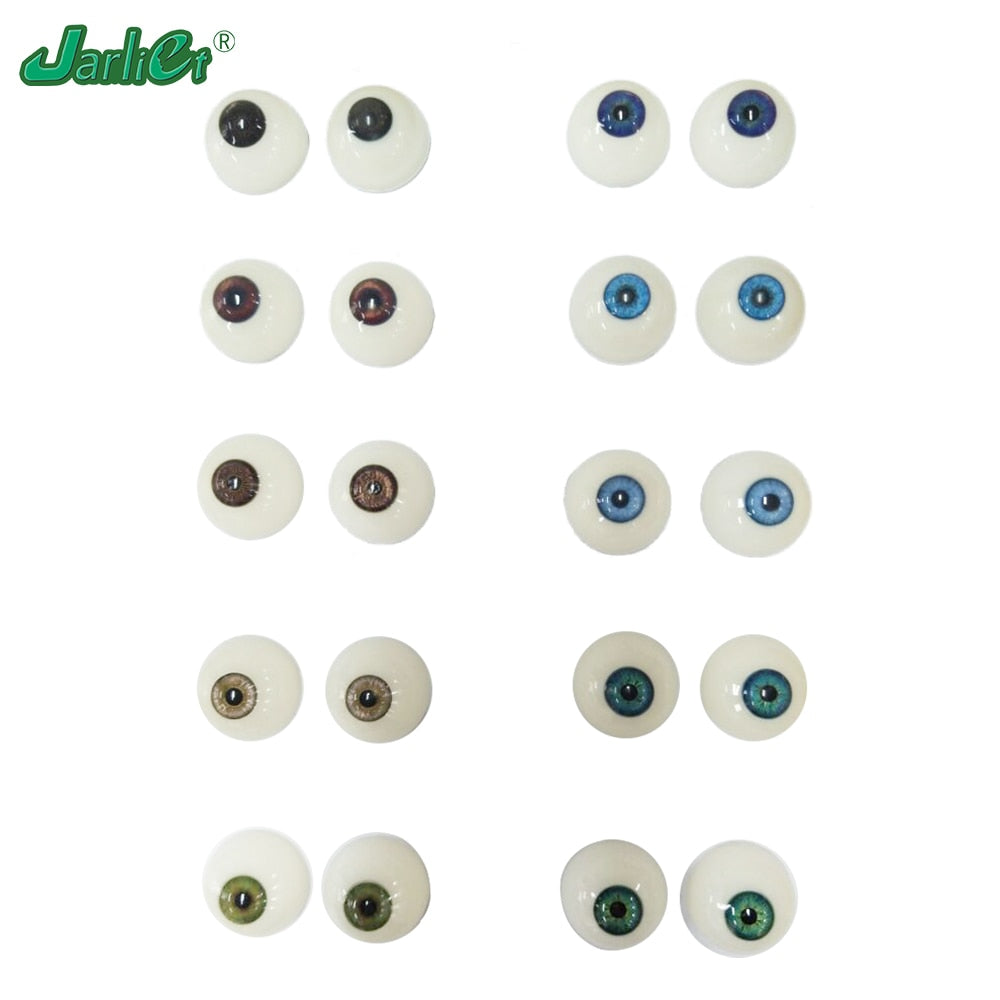 1 pair 3D Realistic Eyes Simulation Engraving Hemispherical Shape for Sex Doll Love Doll Men Masturbation With High Quality