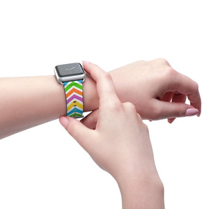 Chevron - Watch Band - Apple Watch Compatible - The Teez Project