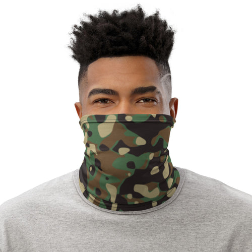 Green Camo Neck Gaiter - The Teez Project