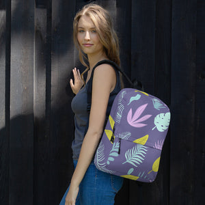 Tropical Purple - Backpack - The Teez Project