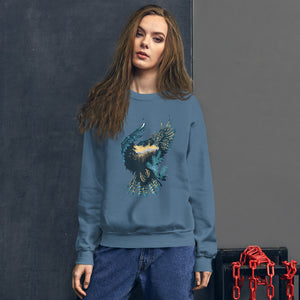 Forest Eagle Unisex Sweatshirt - The Teez Project