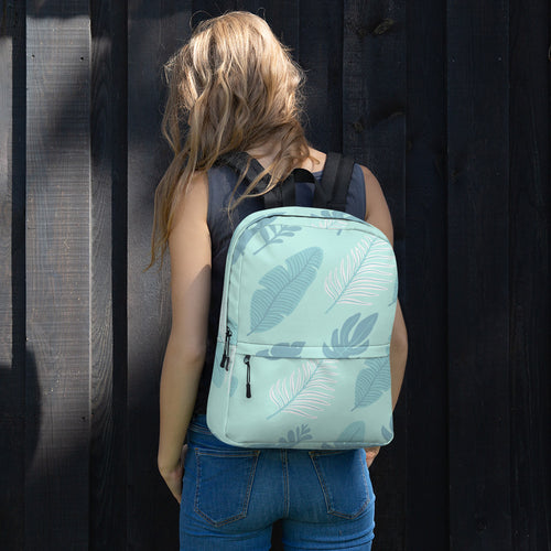 Blue Leaf - Backpack - The Teez Project