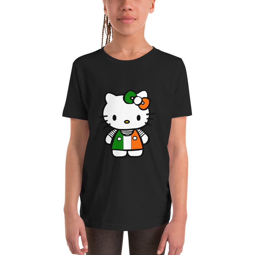 Irish Kitty Youth T-Shirt - The Teez Project