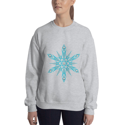 Diamond Snowflake - Sweatshirt - The Teez Project