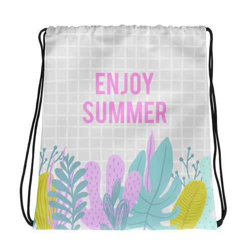 Enjoy Summer - Drawstring bag - The Teez Project