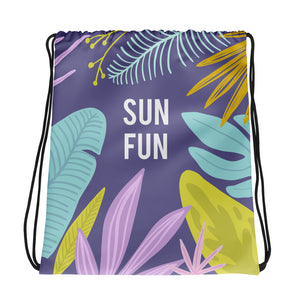 Sun Fun - Drawstring bag - The Teez Project