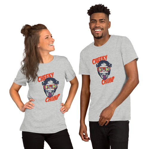 Cheeky Chimp Short-Sleeve Unisex T-Shirt - The Teez Project