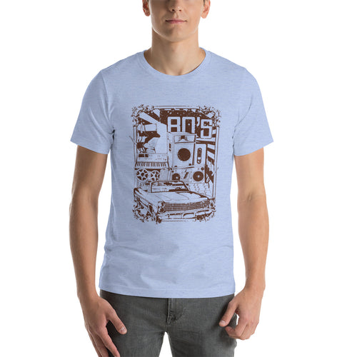 Love the 80's Short-Sleeve Unisex T-Shirt - The Teez Project