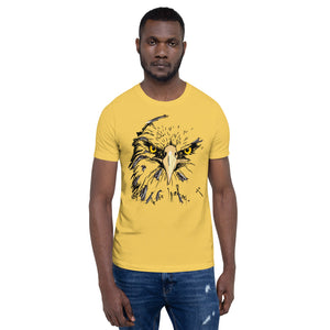 Bald Eagle Short-Sleeve Unisex T-Shirt - The Teez Project