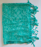 Machine Woven Silk Shawl