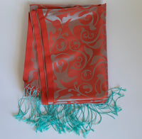 Natural Hand-Woven Silk Shawl
