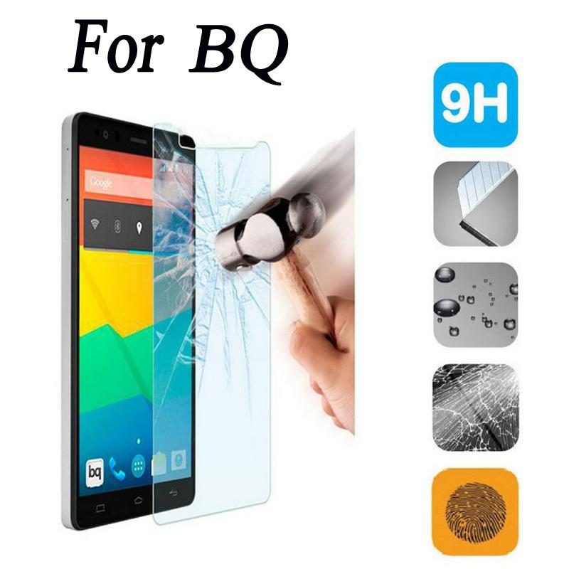 0.3mm 2.5D 9H Tempered Glass For BQ Aquaris X5 E4 E4.5 E5S E6 M4.5 A4.5 M5 M5.5 Screen Protector Toughened Protective Film