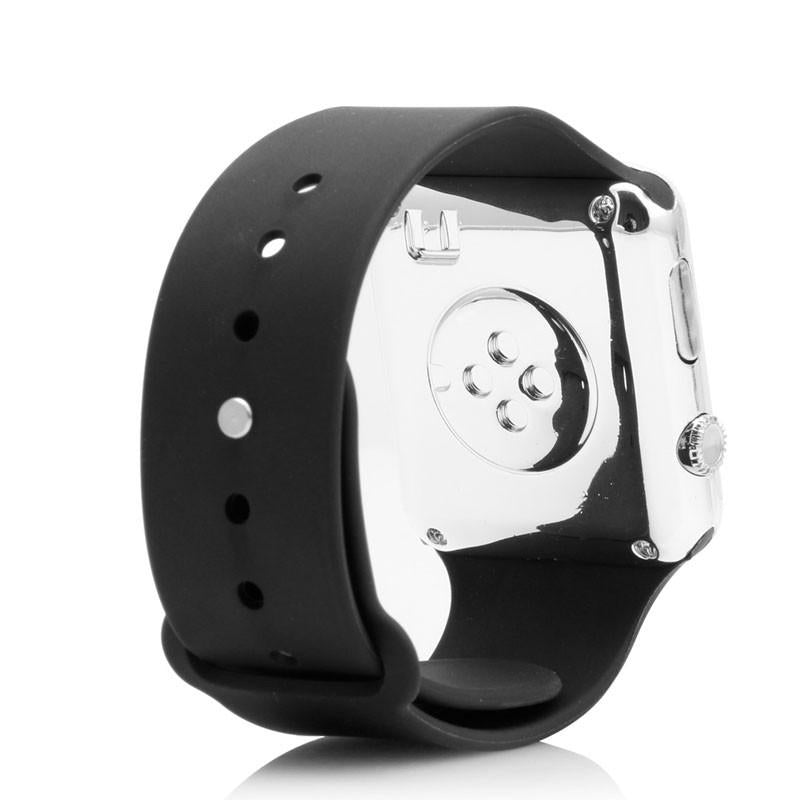 1 PC Men Womens Silicone LED Sport Watch Touch Digital Bracelet Wrist Watches Black