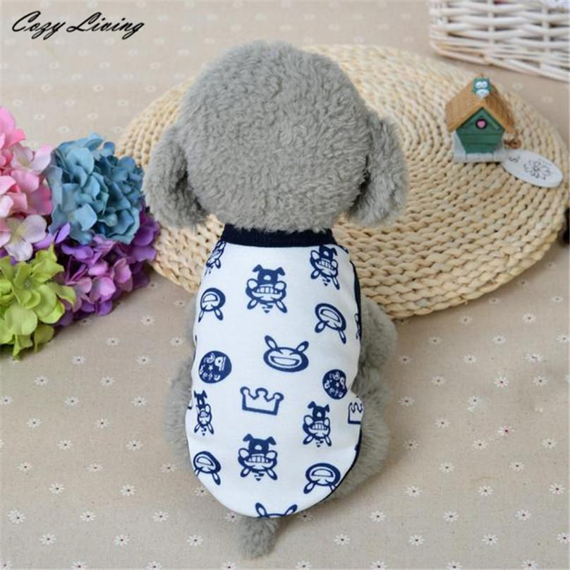 1 PC Pet Clothes For Small Dogs Cats XS Winter Cotton Dog Clothes Milk Chihuahua Small Puppy Pet Clothes Wholesale D19 - Dailytechstudios