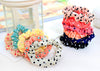 1 Pcs Cute Hot Sale Sweet Girl Elastic Hair Band Ponytail Holder Accessories Headwear With Polka Dots - Dailytechstudios